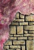 Vieja textura de la roca Imagen de archivo libre de regalías