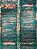 Vieja textura de los obturadores imagen de archivo