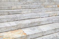 Vieja textura de mármol del fondo de las escaleras Imagen de archivo