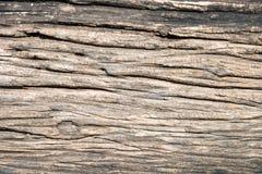 Vieja textura de madera agrietada del grano Fotos de archivo libres de regalías