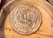 Vieja textura de madera clásica Imagenes de archivo