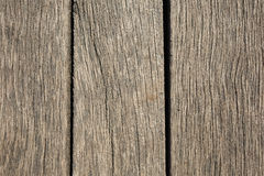 Vieja textura de madera con los modelos naturales Foto de archivo libre de regalías
