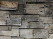 Vieja textura de madera de la pared Fotos de archivo libres de regalías