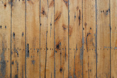Vieja textura de madera de las plataformas para el fondo Foto de archivo libre de regalías
