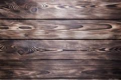 Vieja textura de madera del fondo del escritorio o del piso fotografía de archivo libre de regalías