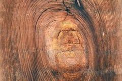 Vieja textura de madera del fondo Fondo de madera del vintage con los nudos y los agujeros de clavo Imágenes de archivo libres de regalías