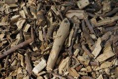 Vieja textura de madera del serrín, fondo imagenes de archivo