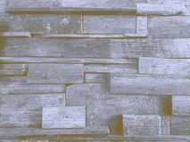 Vieja textura de madera marrón en el fondo del vintage de la falta de definición de la pared imágenes de archivo libres de regalías