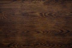 Vieja textura de madera oscura de la placa Imagenes de archivo