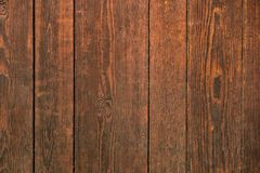 Vieja textura de madera oscura manchada del fondo Foto de archivo