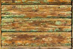 Vieja textura de madera pintada Imagen de archivo libre de regalías