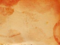 Vieja textura de papel Fotografía de archivo