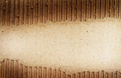 Vieja textura de papel del grunge. Foto de archivo