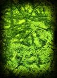 Vieja textura de papel del grunge verde. Imágenes de archivo libres de regalías