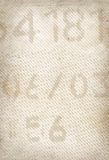 Vieja textura de papel impresa Foto de archivo