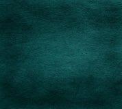Vieja textura de papel verde oscuro Foto de archivo
