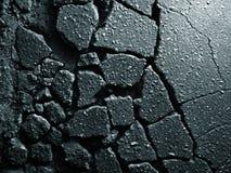 Vieja textura del asfalto Fotografía de archivo libre de regalías