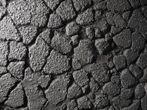 Vieja textura del asfalto Fotos de archivo libres de regalías