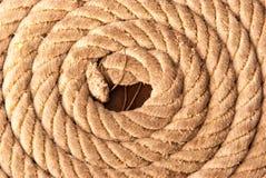 Vieja textura del fondo de la cuerda del velero Versión del paisaje foto de archivo