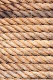 Vieja textura del fondo de la cuerda del velero Versión del retrato imagen de archivo
