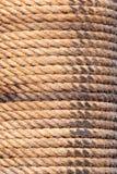 Vieja textura del fondo de la cuerda del velero Versión del retrato imagenes de archivo