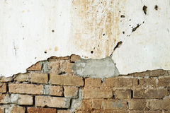 Vieja textura del fondo de la pared de ladrillo Foto de archivo