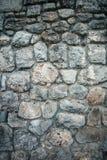 Vieja textura del fondo de la pared de piedra fotos de archivo