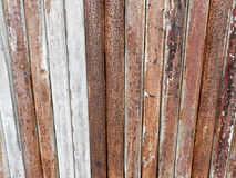 Vieja textura del fondo de las barras de metal Imagenes de archivo
