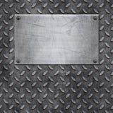 Vieja textura del fondo del metal Fotografía de archivo libre de regalías