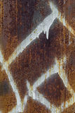 Vieja textura del fondo del metal imagen de archivo libre de regalías