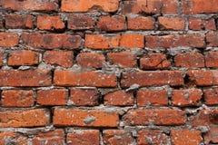 Vieja textura del ladrillo rojo foto de archivo libre de regalías