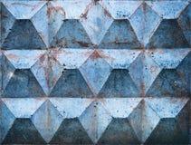 Vieja textura del metal imagenes de archivo