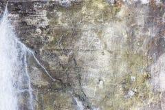 Vieja textura del muro de cemento Foto de archivo libre de regalías