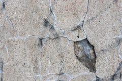 Vieja textura del muro de cemento Imagen de archivo libre de regalías