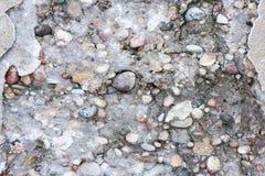 Vieja textura del muro de cemento Imagen de archivo