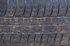 Vieja textura del neumático del camión Foto de archivo libre de regalías