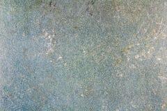 Vieja textura del papel azul del fragmento con el descoloramiento y puntos abstraiga el fondo Imagenes de archivo