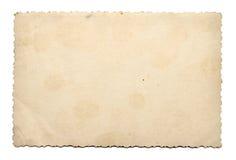 Vieja textura del papel de la foto Fotos de archivo libres de regalías