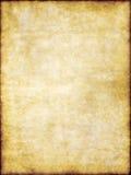 Vieja textura del papel de pergamino de la vendimia del marrón amarillo Fotos de archivo