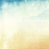 Vieja textura del papel del grunge como fondo abstracto ilustración del vector