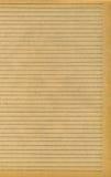 Vieja textura del papel gobernado Fotos de archivo