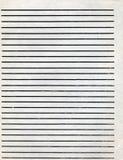 Vieja textura del papel gobernado Imágenes de archivo libres de regalías