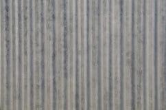 Vieja textura del tejado de la hoja de metal del grunge Imagen de archivo