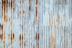 Vieja textura del tejado de la hoja de metal Modelo de la hoja de metal vieja Textura de la hoja de metal Imagen de archivo libre de regalías