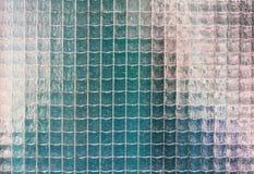 Vieja textura del vidrio atado con alambre Imagen de archivo