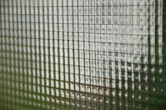 Vieja textura del vidrio atado con alambre Fotografía de archivo libre de regalías