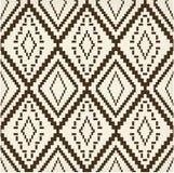 Vieja textura marrón étnica Foto de archivo libre de regalías