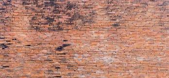 Vieja textura marrón de la pared de ladrillo Imagen de archivo libre de regalías