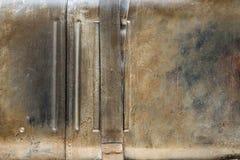 Vieja textura oxidada del metal Foto de archivo libre de regalías