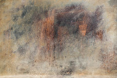 Vieja textura oxidada del metal Imagen de archivo